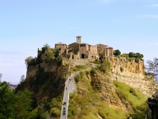 Civita di Bagnoregio: a walk through the streets of the city and admire the monuments of the center town founded by the Etruscans more than 2,500 years ago