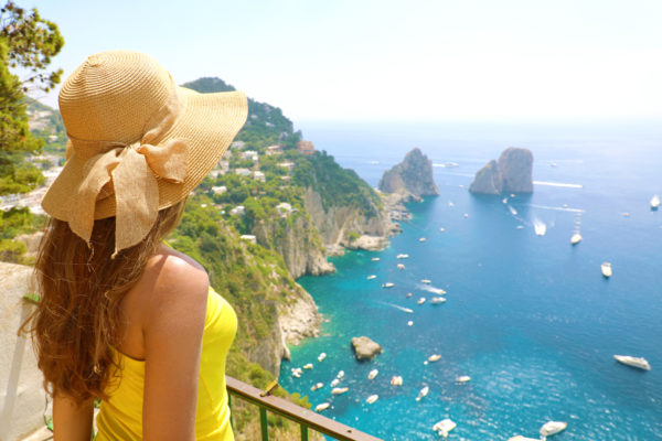 With this day tour you will have the opportunity to visit the entire island of Capri. You can choose to meet the guide at the port of Naples